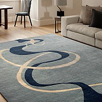 Himalayan Smoke Grey rug
